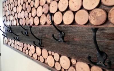 آموزش ساخت دکور چوبی آسان برای شما, دکوراسیون چوبی روستیک