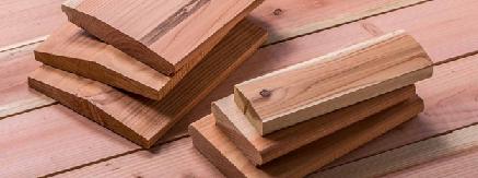 چوب درخت سکویا یا سرخ چوب