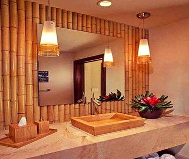 استفاده از ساقه گیاه بامبو در سرویس های بهداشتی