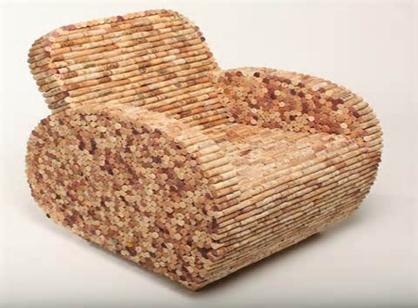 نمونه ای از کاربرد خلاقانه ساقه خشک شده بامبو