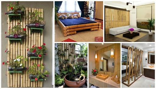 کاربرد چوب بامبو در تزیینات و ساخت دکوراسیون