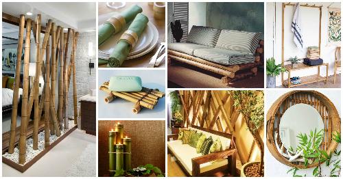 دکوراسیون داخلی چوب بامبو