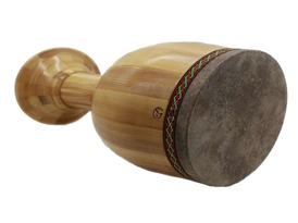 تنبک با بدنه چوبی