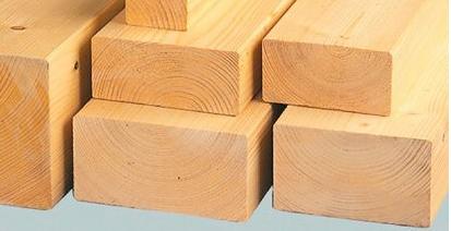 چوب چهار تراش , ابعاد چوب چهار تراش