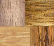 چوب های نرم و سخت