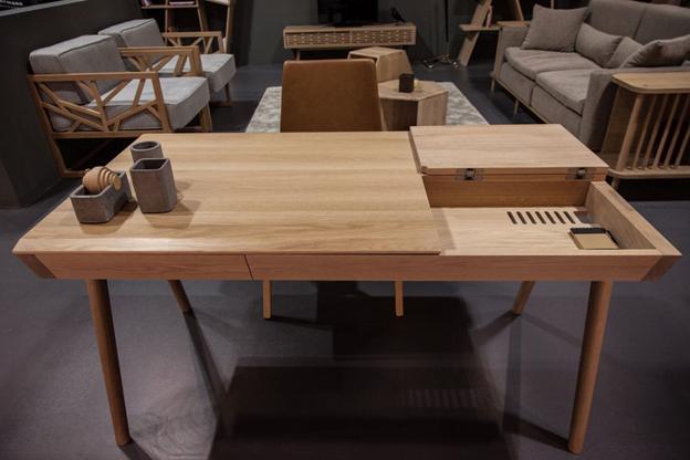 میز کار و میز تحریر چوبی