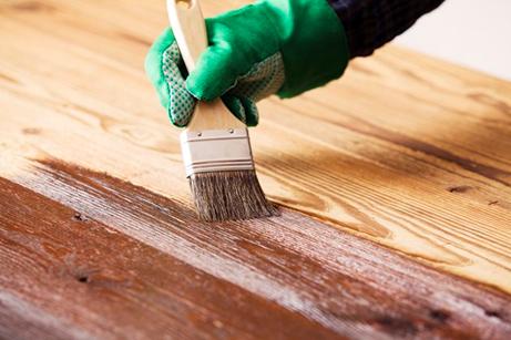 همه چیز راجع به رنگ کردن چوب - رنگ آمیزی چوب خام ، چوب رنگ شده و چوب فشرده شده