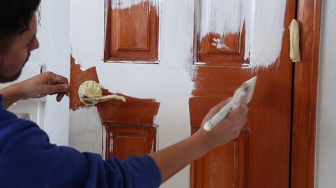 همه چیز راجع به رنگ کردن چوب -  رنگ آمیزی چوب از پیش رنگ شده
