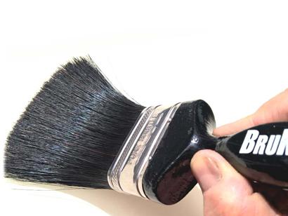 همه چیز راجع به رنگ کردن چوب -  قلمو مویی