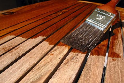 همه چیز راجع به رنگ کردن چوب -  رنگ فندقی برای چوب