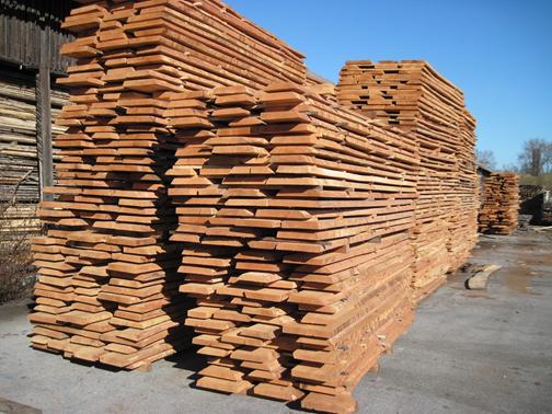 چوب راش- الوارهای چوب راش