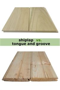 همه چیز راجع به لمبه های چوبی –  تفاوت بین تخته های شیپلاپ و لمبه های چوبی (اتصال کام و زبانه)