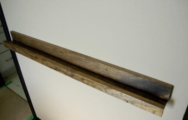 میز کنسول , کنسول چوبی دیواری