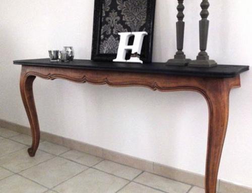 خرید اینترنتی و سفارش ساخت میز کنسول چوبی