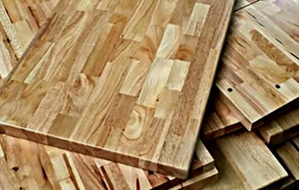 چوب های فینگر جوینت، نمونه ای از پانل های فینگر جوینت