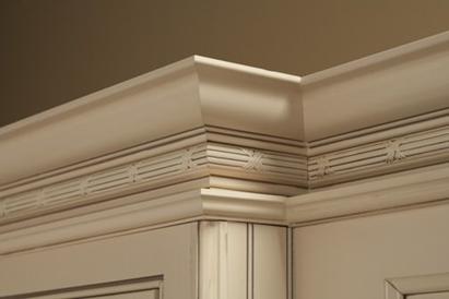 دانستنی هایی راجع به تاج کابینت چوبی -  تاج کابینت سنتی