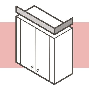 دانستنی هایی راجع به تاج کابینت چوبی - تاج کابینت برآمده