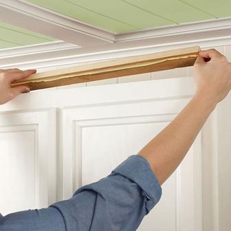 دانستنی هایی راجع به تاج کابینت چوبی - چگونگی نصب تاج کابینت چوبی