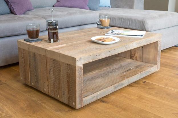 تخته های بنایی- استفاده از تخته های بنایی استفاده شده به عنوان میز