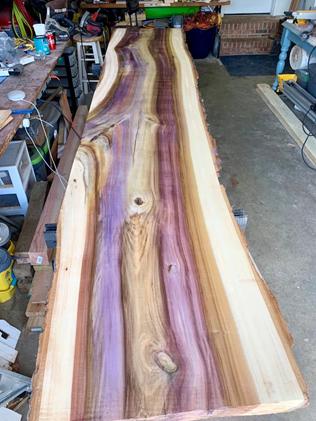 همه چیز راجع به درخت و چوب سپیدار -  چوب درخت سپیدار رنگین کمانی
