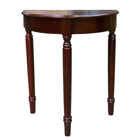 میز های نیم دایره - نوعی از میز های نیم دایره سه پایه