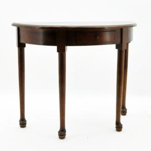 میز های نیم دایره - نوعی از میز های نیم دایره چهار پایه