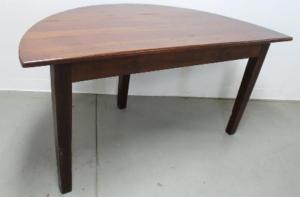 نحوه ساخت میز های نیم دایره