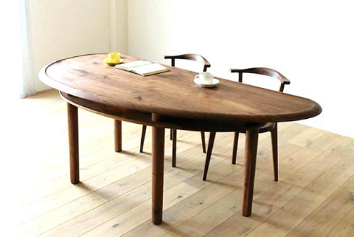 میز تحریر نیم دایره گرد