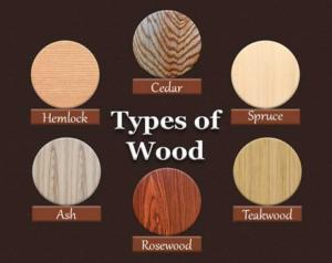 انواع چوب , شناسایی انواع چوب