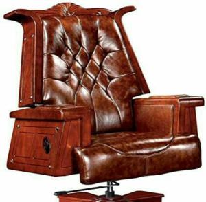 صندلی مدیریت ساخته شده از چوب پادوک