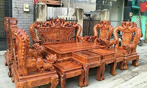 ساخت مبلمان از چوب پادوک
