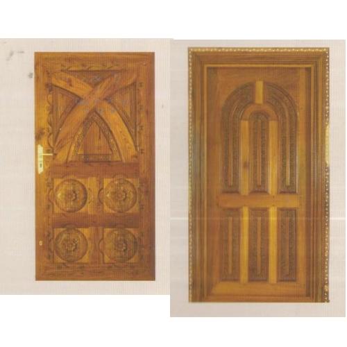 درب چوبی مدل قدیمی