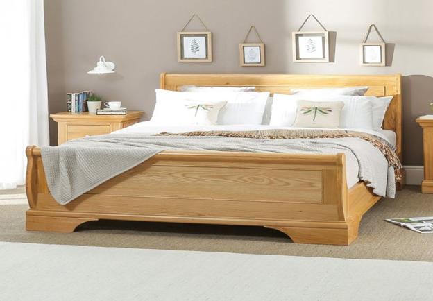 انواع چوب مناسب برای تخت چوبی کینگ سایز _ تخت چوبی کینگ سایز از جنس چوب بلوط