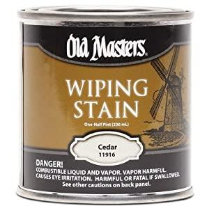 رنگ Wiping Stain Old Master - خشک کردن آهسته بر پایه روغن