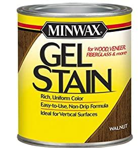 رنگ مین وکس Minwax Gel Stain - گزینه عالی برای چوب های سخت و رنگ دار مانند افرا