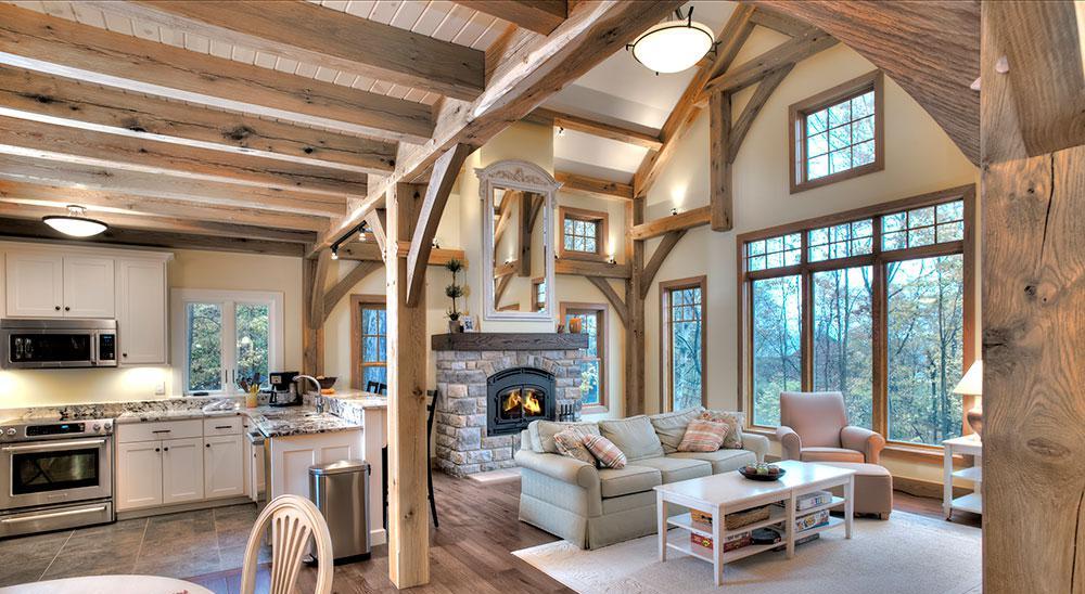 انواع چوب , تیر چوبی سقفی, تیر چوب کاج