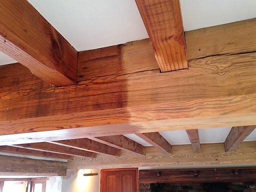 چوب بلوط تیر سقف