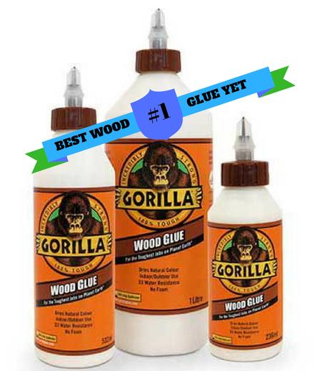 چسب چوب مورد علاقه من شماره 1: چسب چوب Gorilla  -  Gorilla Wood Glue