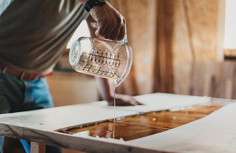دانستنی هایی راجع به رزین اپوکسی چوب -  کدام رزین اپوکسی برای کار با چوب مناسب است