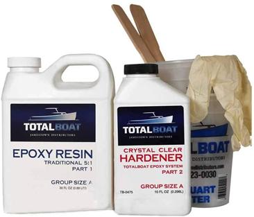 دانستنی هایی راجع به رزین اپوکسی چوب - رزین اپوکسی TotalBoat