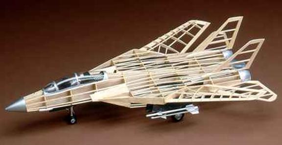 نمونه ای از هواپیمای ساخته شده از چوب بالسا