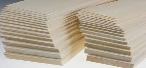 انواع مختلف ورق های چوب بالسا