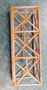 ماکت تاور و برج ساخته شده از چوب بالسا