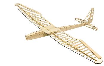 ماکت هواپیما ساخته شده از چوب بالسا