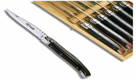 دسته چاقو ساخته شده از چوب آبنوس