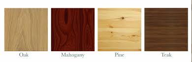 مقایسه چوب کاج و چوب بلوط
