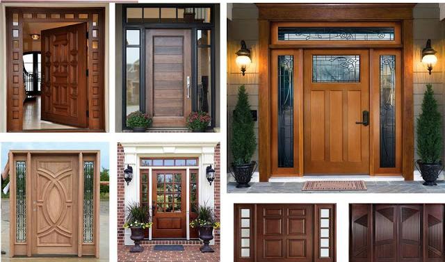 دکوراسیون چوبی , انواع درب چوبی و درب چوبی ضد آب