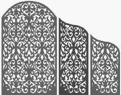 طراحی و ساخت درب های اسلیمی و گره چینی