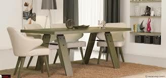 میز چوبی تلفیق جالب چوب و فلز