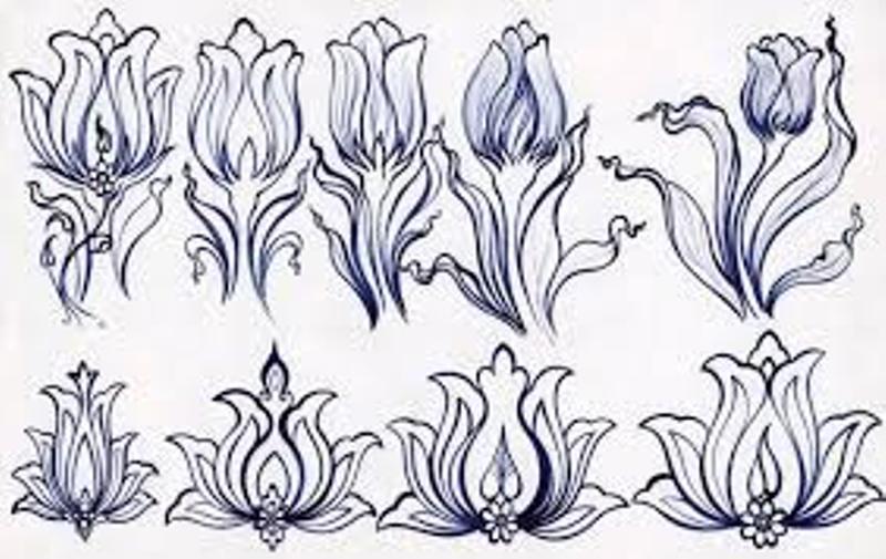 اصل ختایی در هنر تزئینی ایران